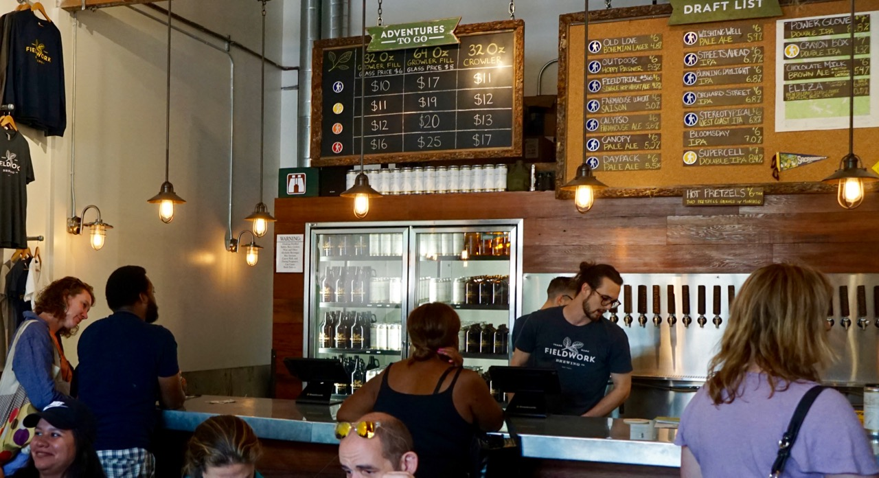 Fieldwork Brewing Company | OUT in Sacramento: A Fabulous Blog
